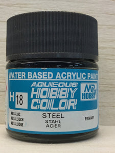 GUNZE MR HOBBY COLOR H18 METALLIC STEEL