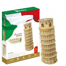 3D PUZZLE LEANING TOWER