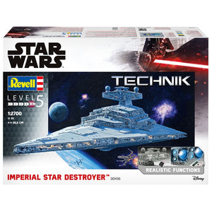 REVELL 1/2700 STAR WARS IMPERIAL STAR DESTROYER (58+cm LONG WITH LIGHTING)