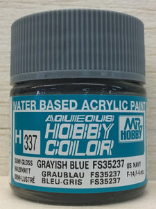 GUNZE MR HOBBY COLOR H337 SEMI GLOSS GRAYISH BLUE FS35237