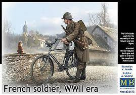 MASTER BOX FRENCH SOLDIER WW2 ERA