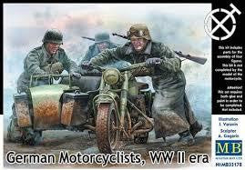 MASTERBOX 1/35 GERMAN MOTORCYCLES WW2