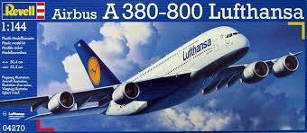REVELL 1/144 AIRBUS A380 LUFTHANSA