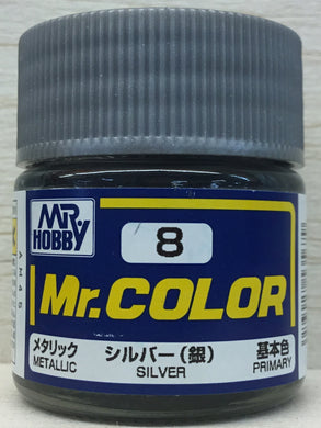 GUNZE MR COLOR C8 METALLIC SILVER