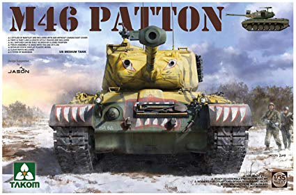 TAKOM 1/35 US MEDIUM TANK M-46 PATTON