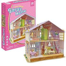 SARAS HOME 3D JIGSAW DOLLSHOUSE