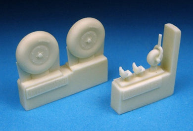 BARRACUDACAST 72225 1/72 BOLTON PAUL DEFIANT WHEELS