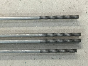 "DU BRO 173 2-56 X 30"" LONG THREADED RODS"
