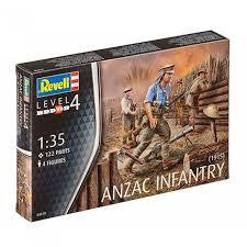 REVELL 1/35 ANZAC INFANTRY 1915