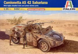 ITALERI 1/35 AS.42 SAHARIANA