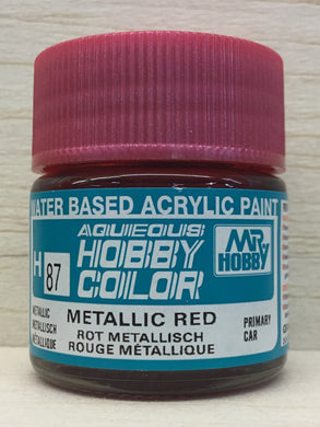 GUNZE MR HOBBY COLOR H87 METALLIC RED