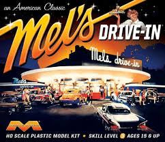 MOEBIUS 1/72  ( HO SCALE )  MELS AMERICAN DRIVE IN DINER