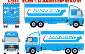 ITALERI 1/24 MAINFREIGHT NZ DAF 95
