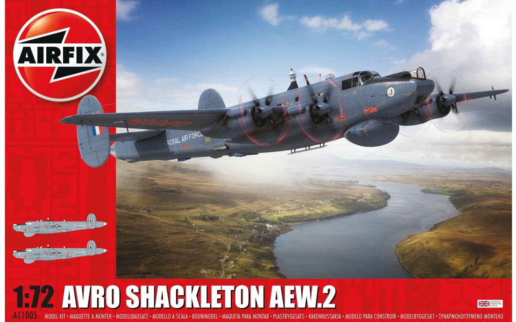 AIRFIX 1/72 SHACKLETON AEW.2