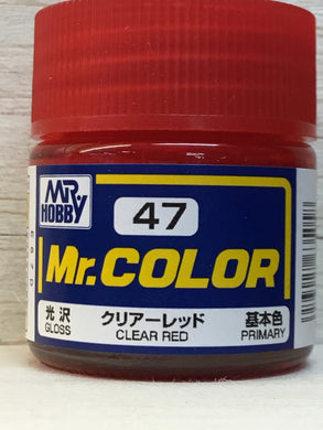 GUNZE MR COLOR C47 CLEAR RED