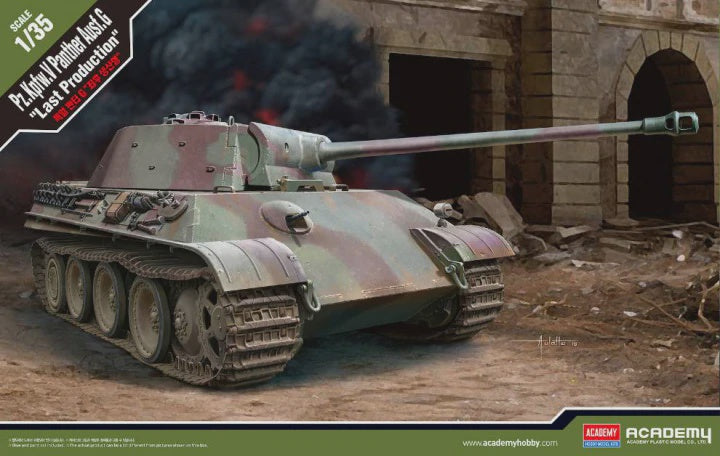 ACADEMY 1/35 PANTHER AUSF-G LAST PRODUCTION