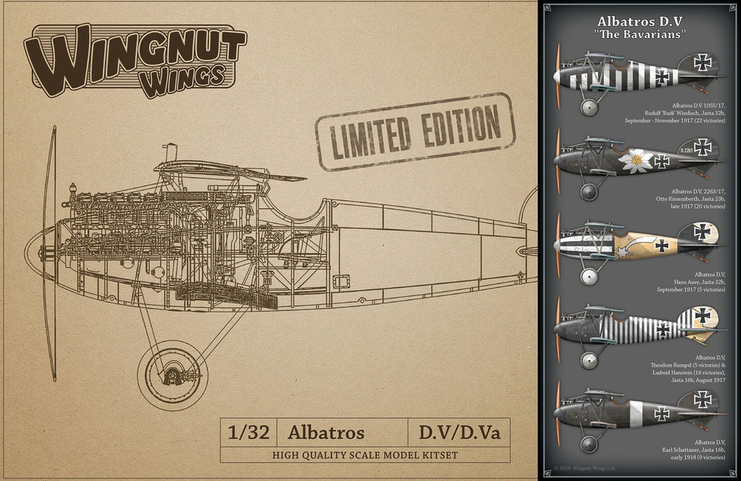 WINGNUT WINGS 1/32 ALBATROS D.V BAVARIANS