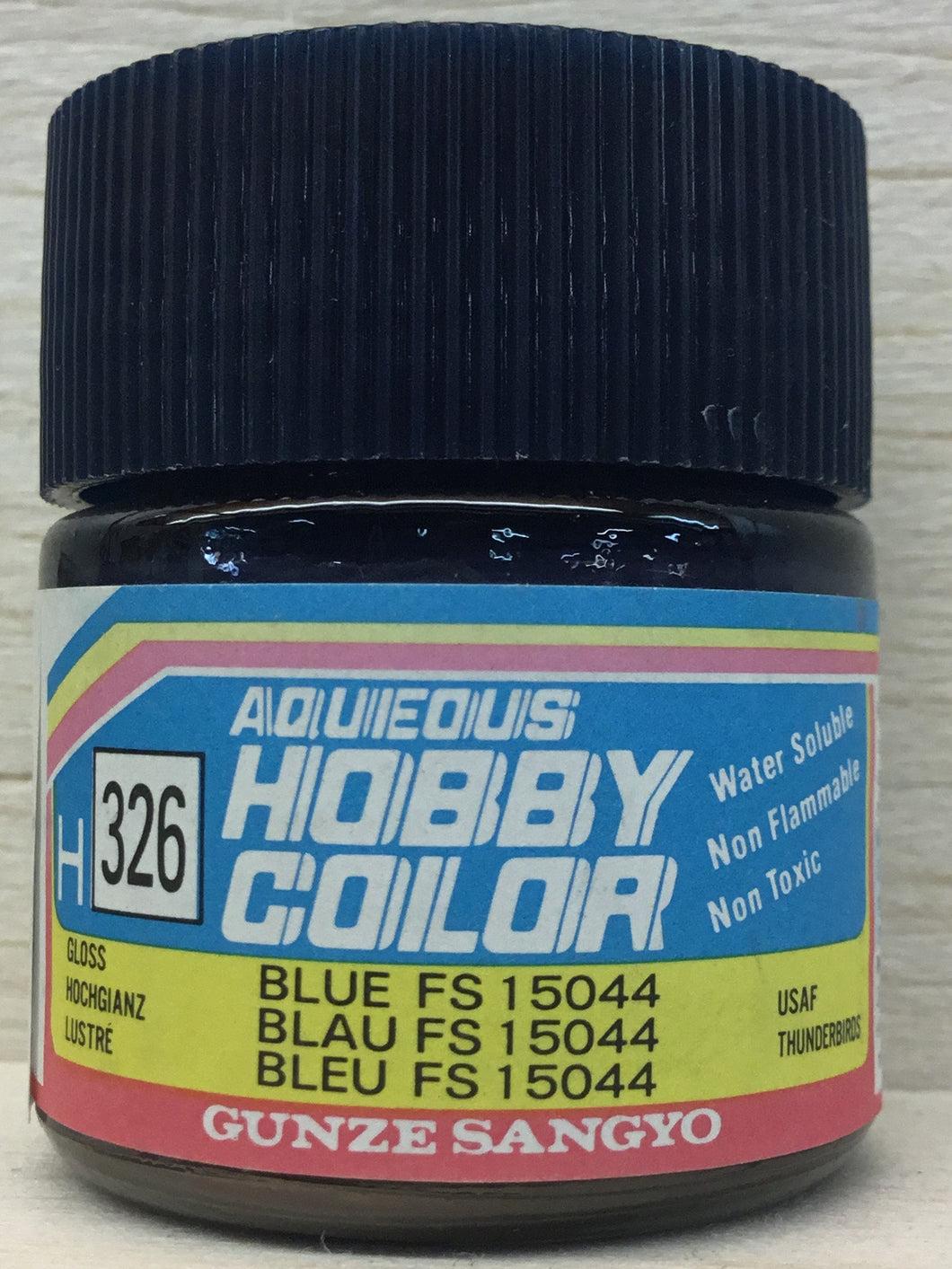 GUNZE MR HOBBY COLOR H326 GLOSS BLUE FS15044