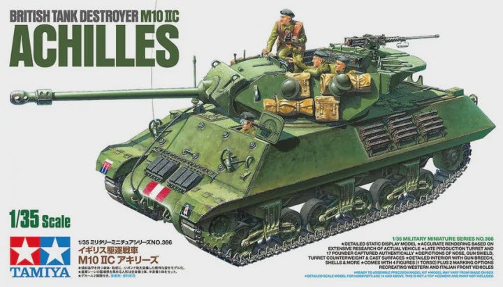 TAMIYA 1/35 M10 IIC BRITISH ACHILLES TANK DESTROYER