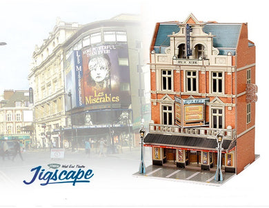 3D PUZZLE JIGSCAPE WEST END THEATRE