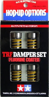 TAMIYA TRF DAMPER SET FLURINE COATED
