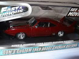 FAST & FURIOUS 1/24 DIECAST DOM'S 1969 CHARGER DAYTONA