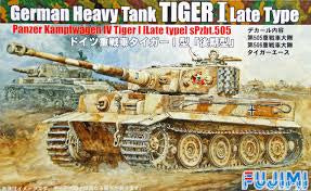 FUJIMI 1/72 GERMAN TIGER 1 LATE TYPE