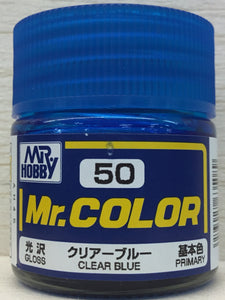 GUNZE MR COLOR C50 GLOSS CLEAR BLUE