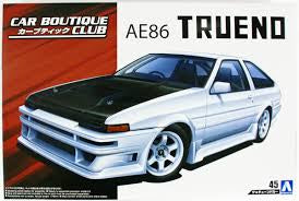 AOSHIMA 1/24 TRUENO AE86 CAR BOUTIQUE CLUB
