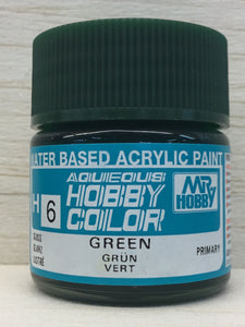 GUNZE MR HOBBY COLOR H6 GLOSS GREEN