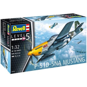 REVELL 1/32 P51D-5NA MUSTANG EARLY