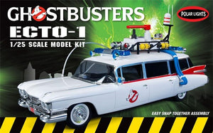 POLAR LIGHTS 1/25 GHOSTBUSTERS ECTO 1 SNAP