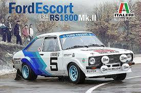 ITALERI 1/24 FORD ESCORT MKII RS1800
