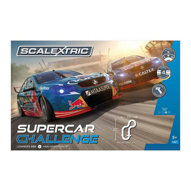 SCALEXTRIC SET SUPERCAR CHALLENGE