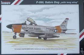 SPECIAL HOBBY 1/72 F-86L SABRE DOG