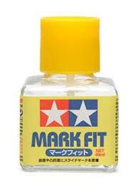 TAMIYA MARK FIT DECAL SOLUTION