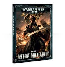 WARHAMMER CODEX ASTRA MILITARUM RULE BOOK