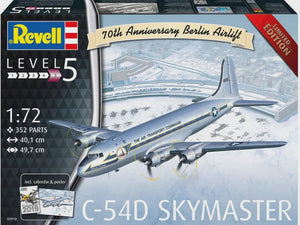REVELL 1/72 C-54D BERLIN AIRLIFT 70TH ANNIVERSARY