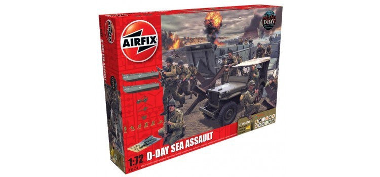 AIRFIX 1/72 D-DAY SEA ASSAULT STARTER SET