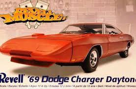 REVELL 1/25 '69 DODGE CHARGER DAYTONA