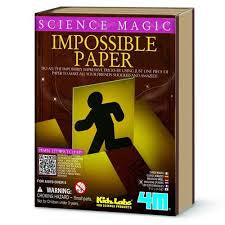 SCIENCE MAGIC IMPOSSIBLE PAPER