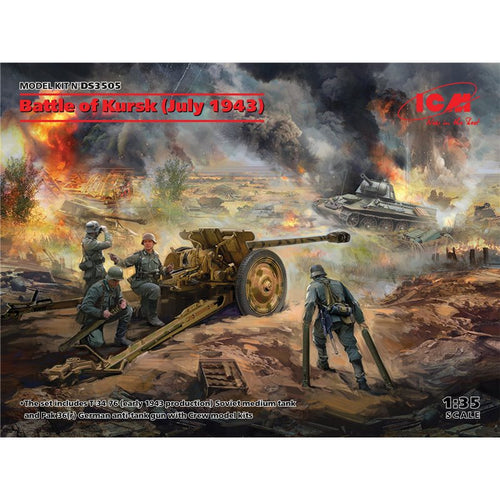ICM 1/35 BATTLE OF KURSK JULY 1943 DS3505