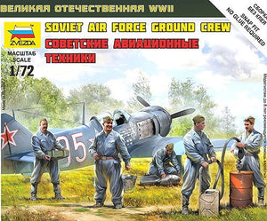 ZVEZDA 1/100 SOVIET AIR FORCE GROUND CREW