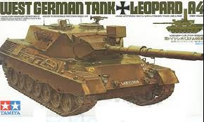 TAMIYA 1/35 WEST GERMAN LEOPARD A4 TANK
