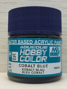 GUNZE MR HOBBY COLOR H35 GLOSS COBALT BLUE
