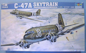 TRUMPETER 1/48 C-47A SKYTRAIN