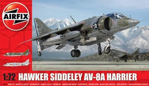 AIRFIX 1/72 HAWKER SIDDELEY AV-8A HARRIER