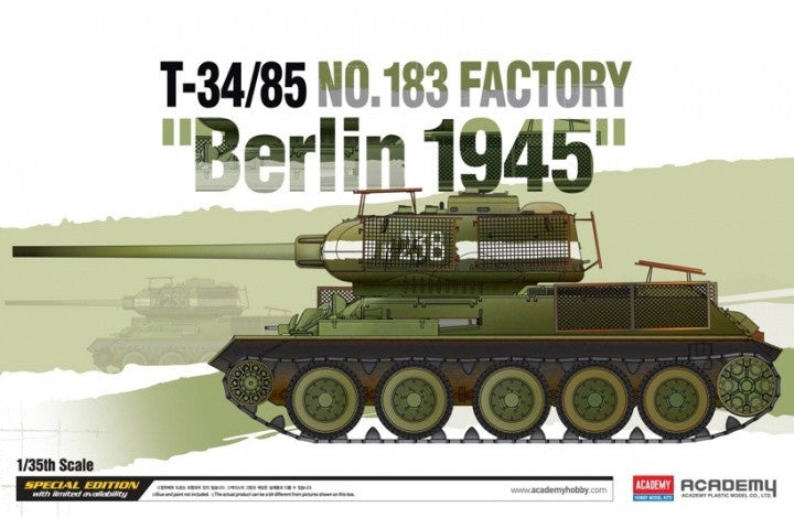 ACADEMY 1/35 T34/85 183 FACTORY
