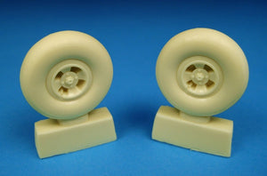 BARRACUDACAST 32006 1/32 SPITFIRE 4 SLOT MAINWHEELS