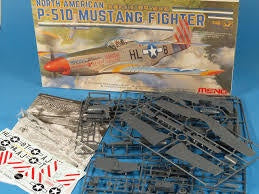 MENG 1/48 P-51D MUSTANG ( NO GLUE REQUIRED )